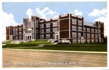 New Central High School, Minneapolis, Minnesota - 1913